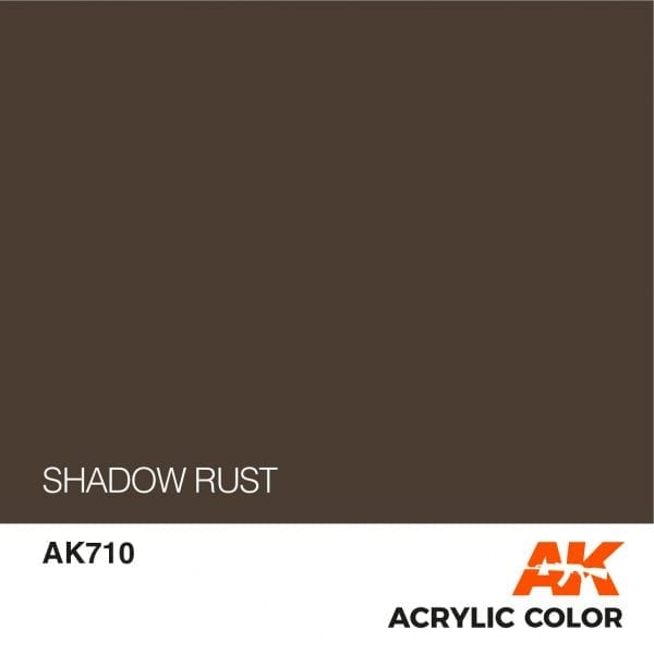 AK710 SHADOW RUST