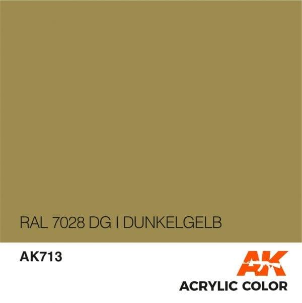 AK713 RAL 7028 DG I DUNKELGELB