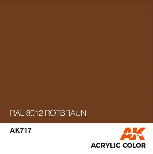 AK717 RAL 8012 ROTBRAUN