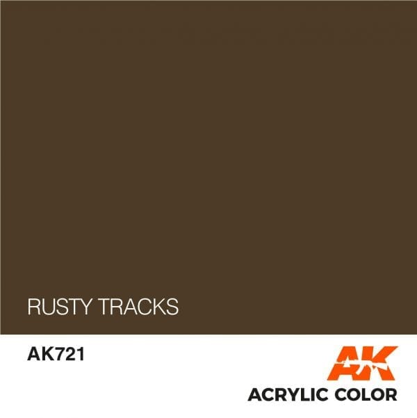 AK721 RUSTY TRACKS