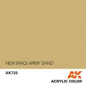AK725 NEW IRAQI ARMY SAND