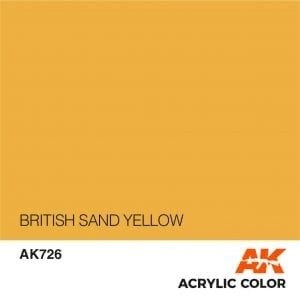 AK726 BRITISH SAND YELLOW