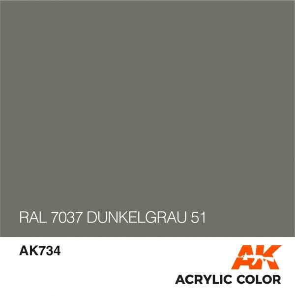 AK734 RAL 7037 DUNKELGRAU 51