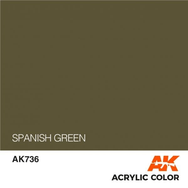 AK736 SPANISH GREEN