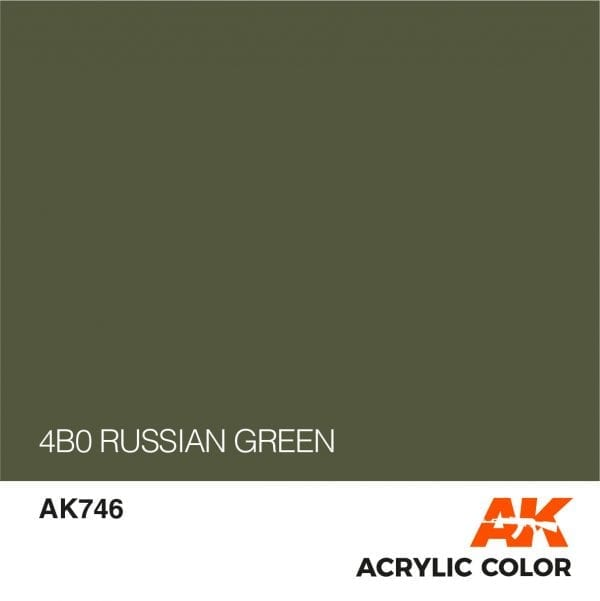AK746 4B0 RUSSIAN GREEN