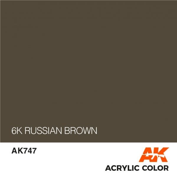 AK747 6K RUSSIAN BROWN