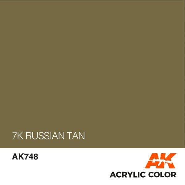 AK748 7K RUSSIAN TAN