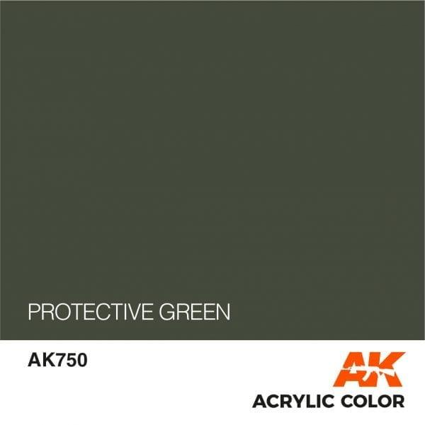 AK750 PROTECTIVE GREEN