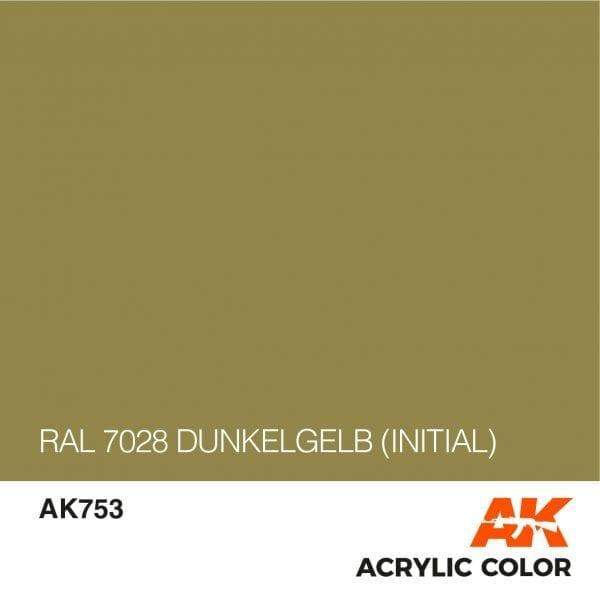 AK753 RAL 7028 DUNKELGELB (INITIAL)