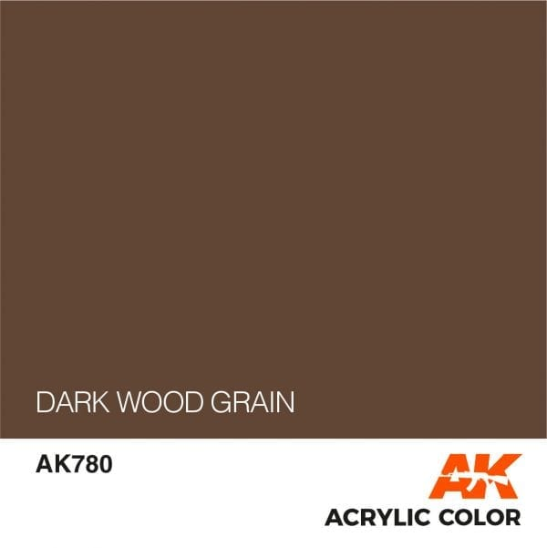 AK780 DARK WOOD GRAIN