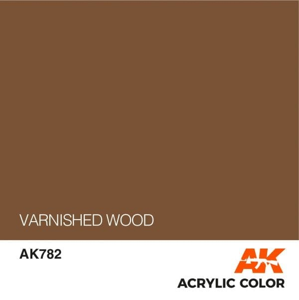 AK782 VARNISHED WOOD