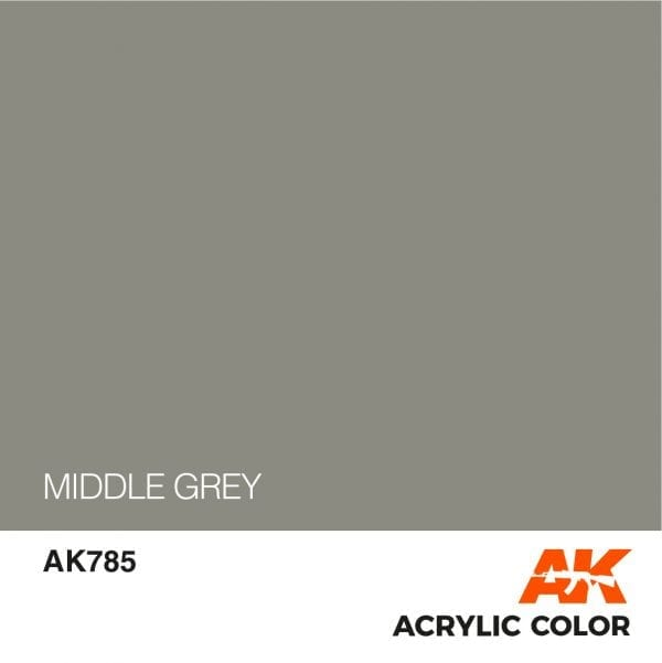 AK785 MIDDLE GREY