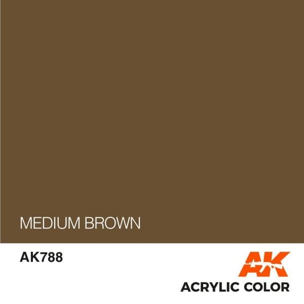 AK788 MEDIUM BROWN