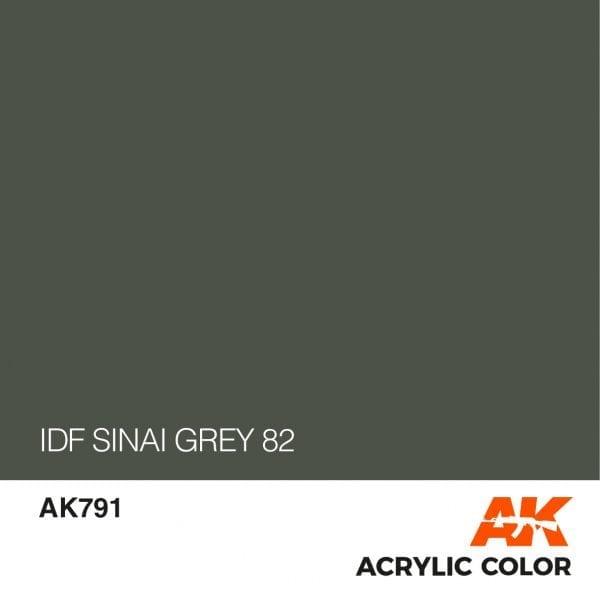 AK791 IDF SINAI GREY 82