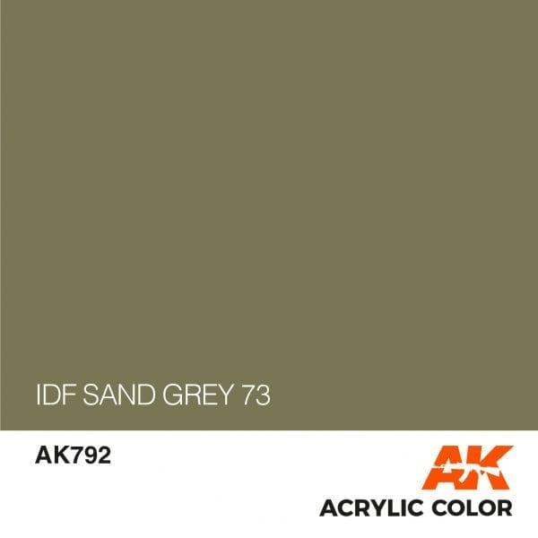 AK792 IDF SAND GREY 73
