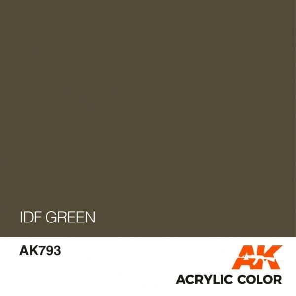 AK793 IDF GREEN