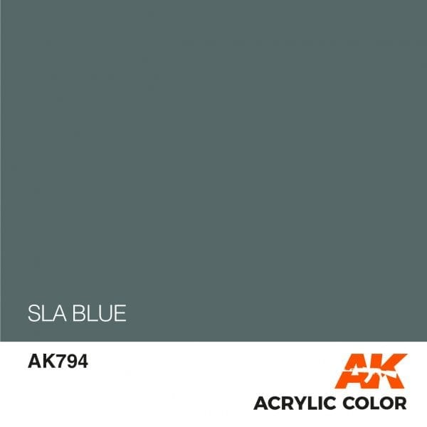 AK794 SLA BLUE