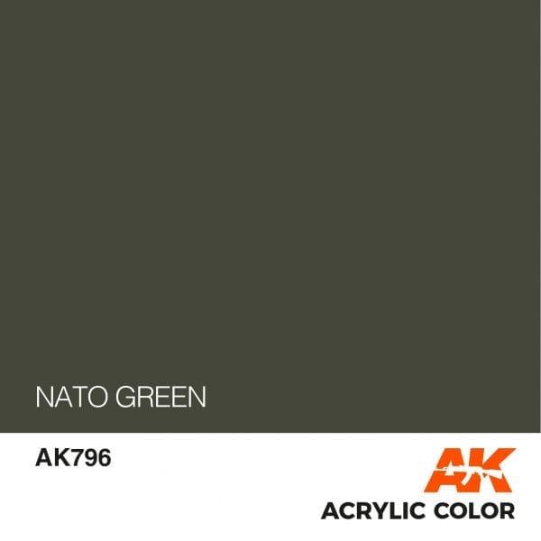 AK796 NATO GREEN