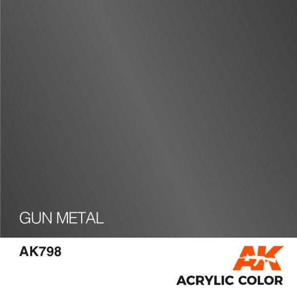 AK798 GUN METAL