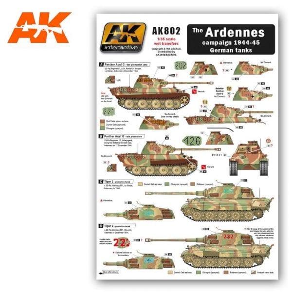 AK802 wet transfers akinteractive