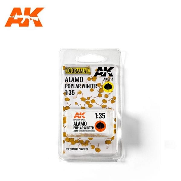 AK8114 leaves dioramas akinteractive