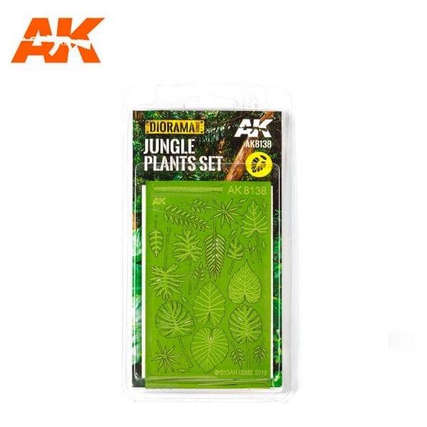 AK8138 fern dioramas akinteractive