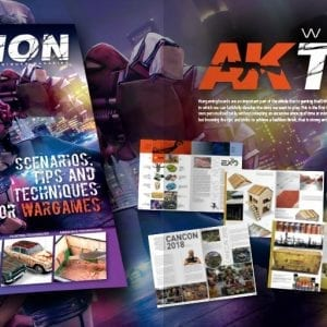AK910 Wargame series catalogue 2019 akinteractive