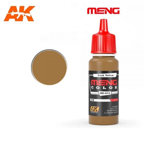MC-014 acrylic paint meng akinteractive modeling