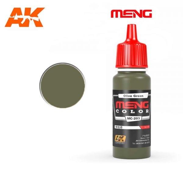 MC-203 acrylic paint meng akinteractive modeling