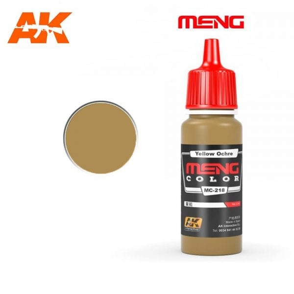 MC-218 acrylic paint meng akinteractive modeling