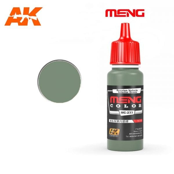 MC-233 acrylic paint meng akinteractive modeling