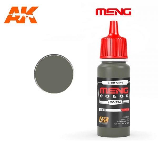 MC-234 acrylic paint meng akinteractive modeling