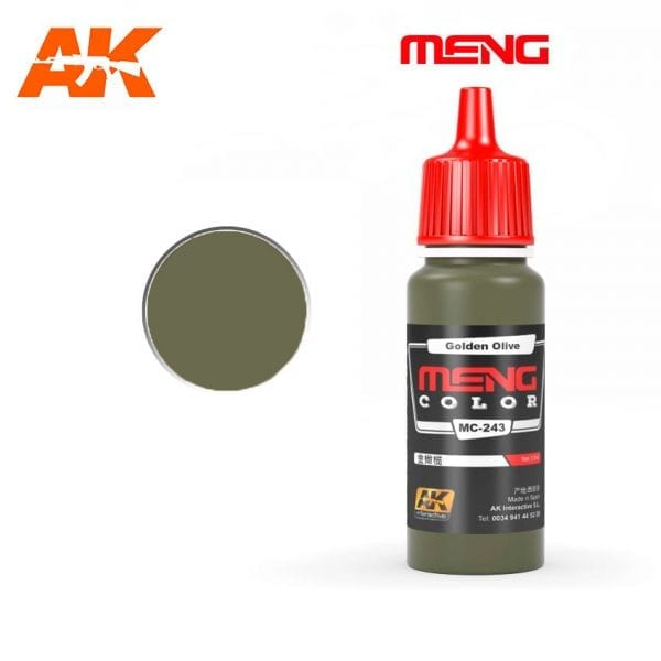 MC-243 acrylic paint meng akinteractive modeling