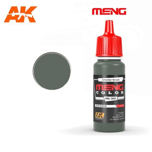 MC-300 acrylic paint meng akinteractive modeling