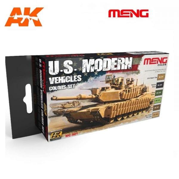 MC801 acrylic paint set meng akinteractive modeling