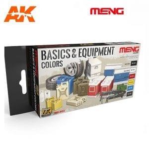 MC803 acrylic paint set meng akinteractive modeling