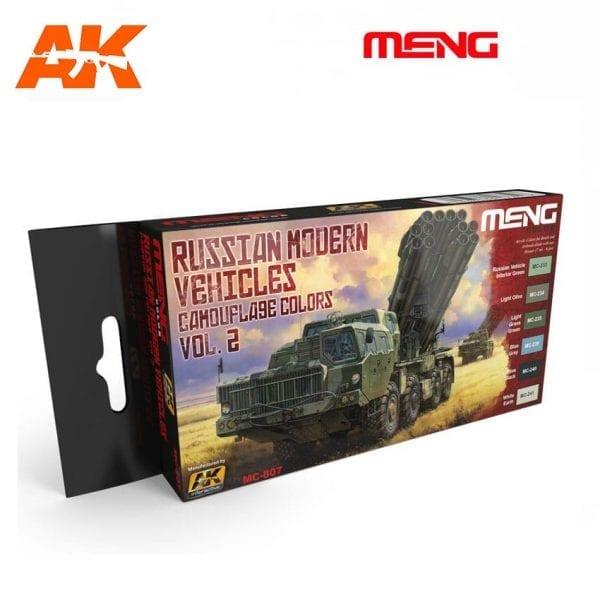 MC807 acrylic paint set meng akinteractive modeling