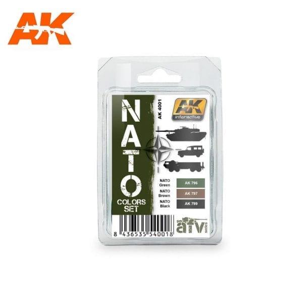 ak4001 acrylic paint set akinteractive modeling