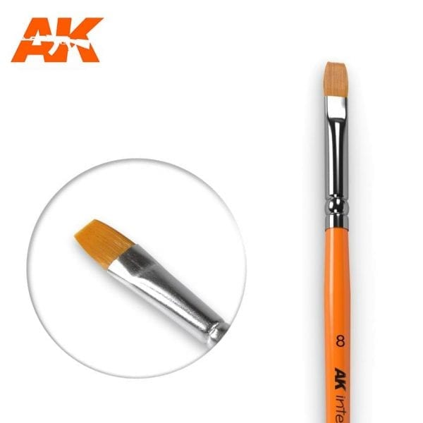 AK608 synthetic brush akinteractive