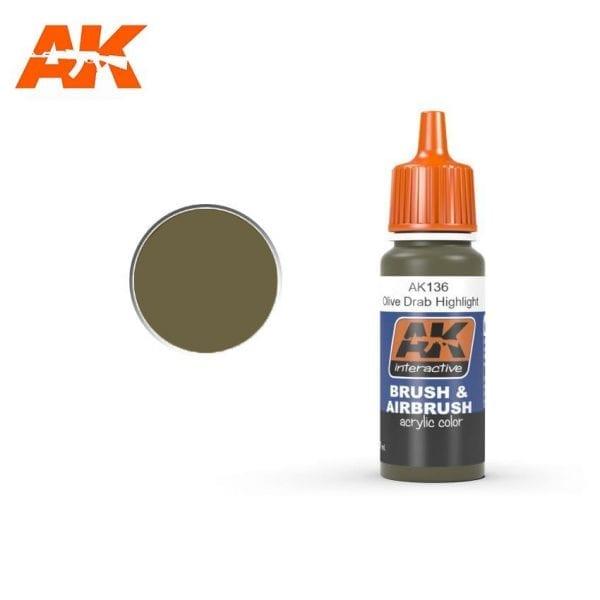 AK136 acrylic paint afv akinteractive modeling