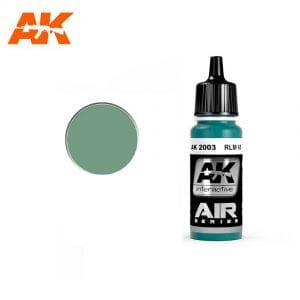 AK2003 acrylic paint air akinteractive modeling