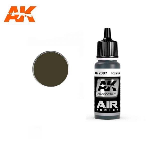 AK2007 acrylic paint air akinteractive modeling