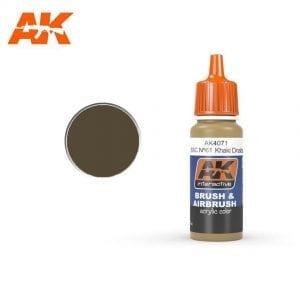 AK4071 acrylic paint afv akinteractive modeling