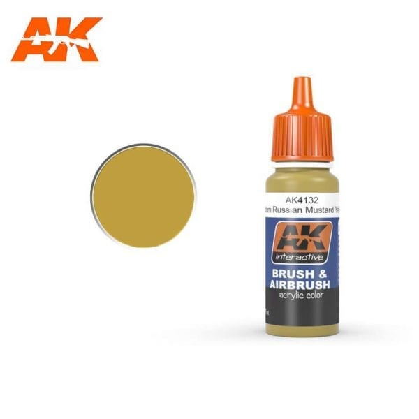 AK4132 acrylic paint afv akinteractive modeling