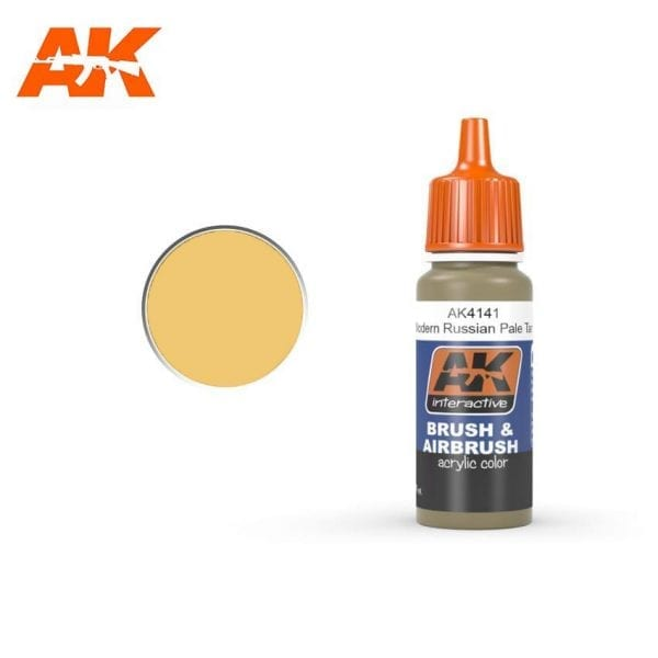 AK4141 acrylic paint afv akinteractive modeling