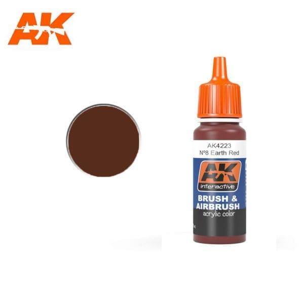 AK4223 acrylic paint afv akinteractive modeling