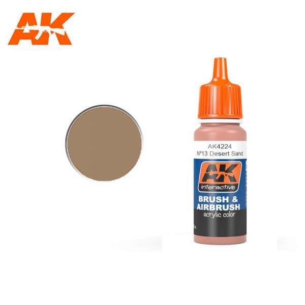 AK4224 acrylic paint afv akinteractive modeling