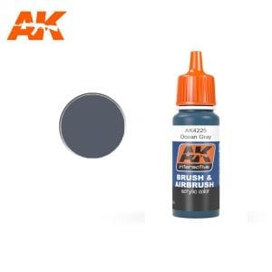 AK4225 acrylic paint afv akinteractive modeling