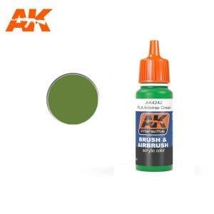 AK4242 acrylic paint afv akinteractive modeling