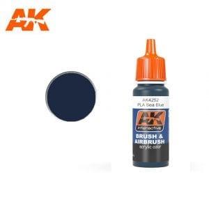 AK4252 acrylic paint afv akinteractive modeling